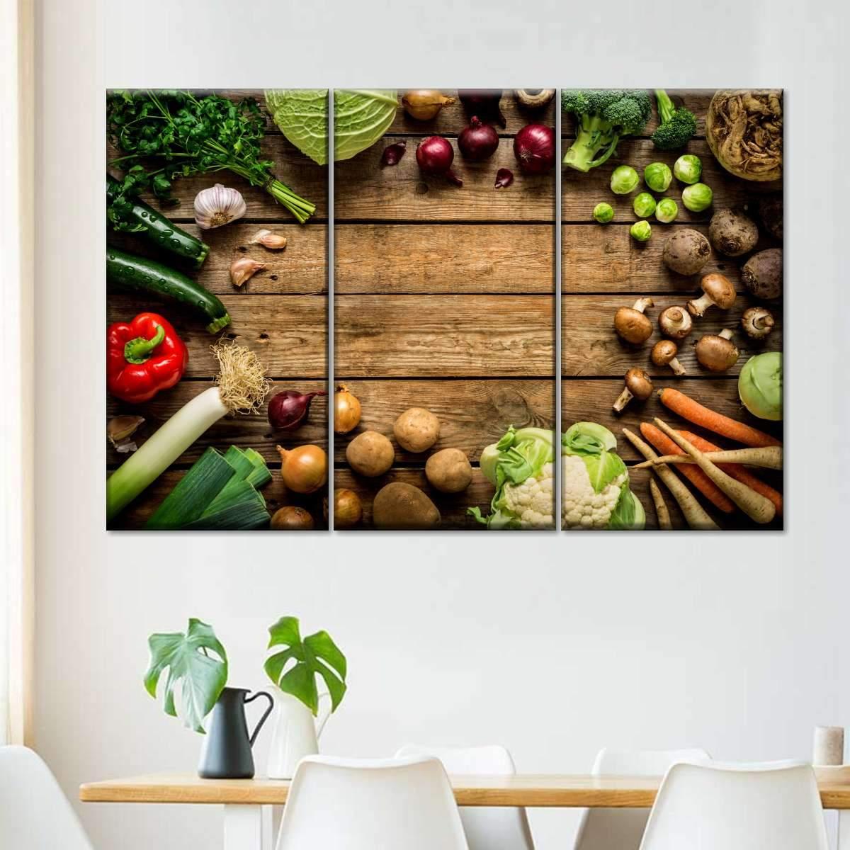 The Feast Multi Panel Canvas Wall Art
