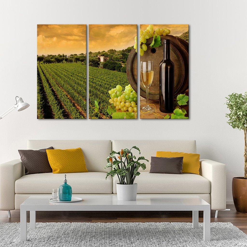 Tuscany Multi Panel Canvas Wall Art