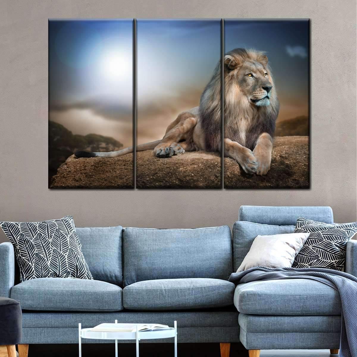 Lion King Multi Panel Canvas Wall Art