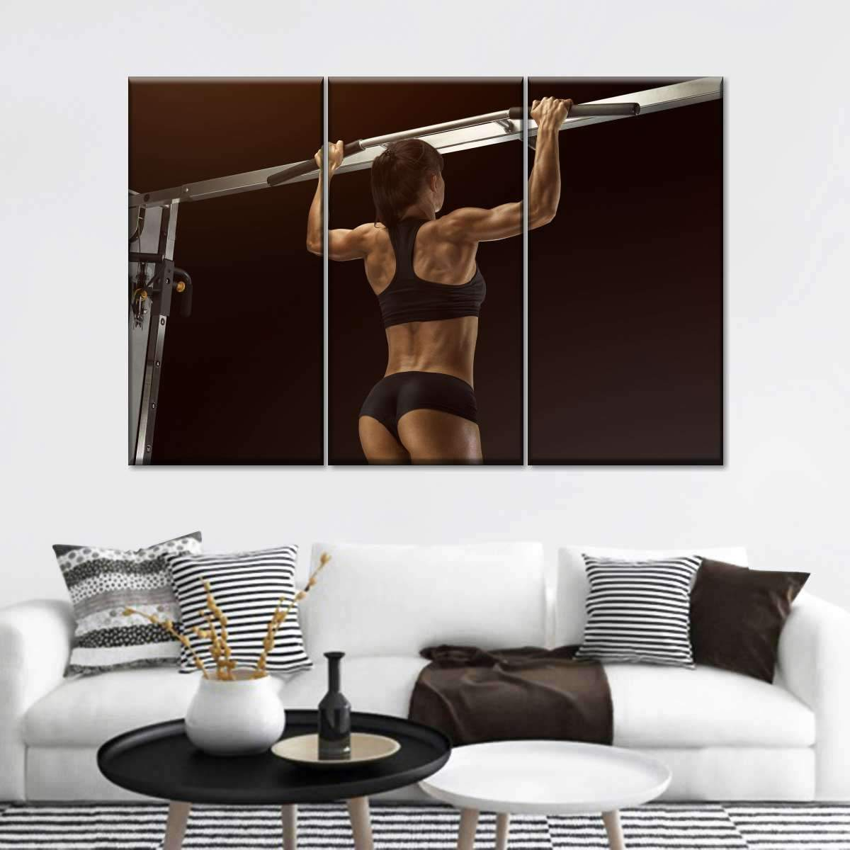Crossfit Therapy Multi Panel Canvas Wall Art