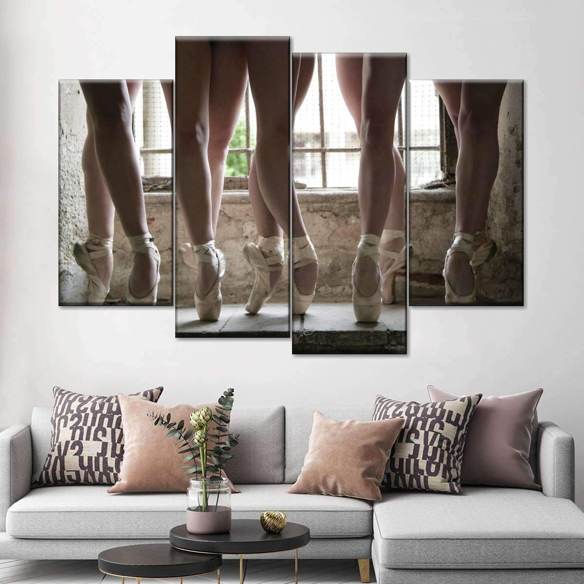 Dance Performance Multi Panel Canvas Wall Art