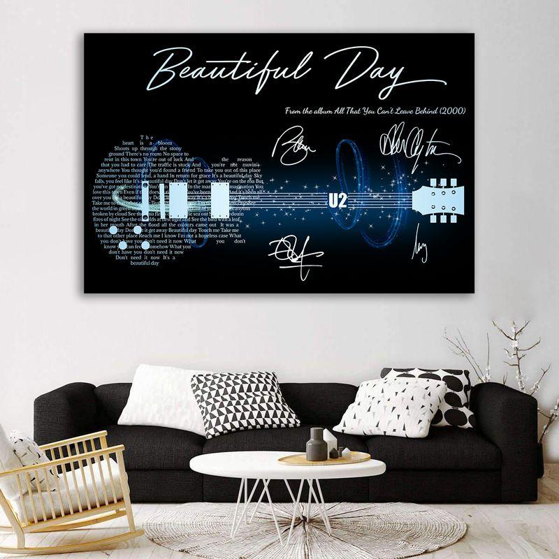 Beautiful Day U2 Canvas