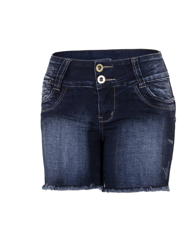 Bermuda Feminina Meia Coxa Fact Jeans [2531]