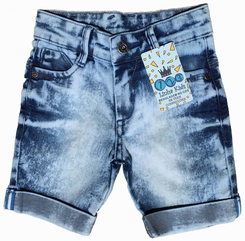 Bermuda Masculina Jeans Infantil [307]