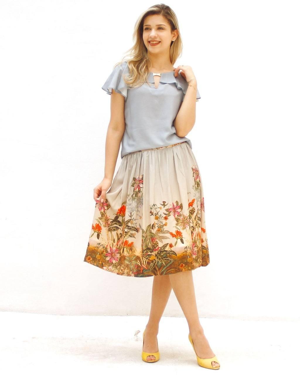 Blusa De Viscose Giselle [2563238]