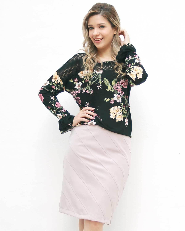 Blusa Floral Liz