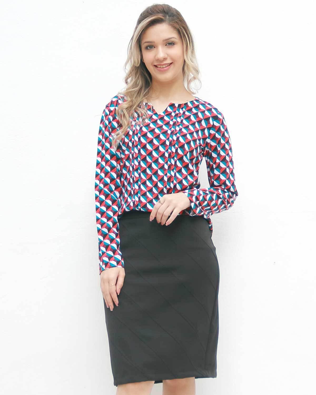 Blusa Geométrica Marie
