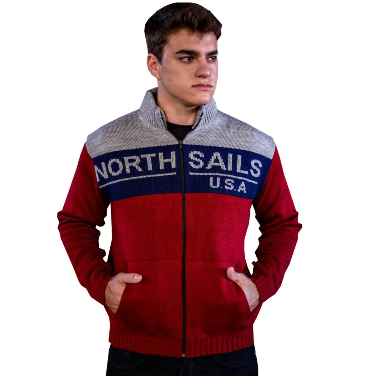 Blusa Masculina de frio malha de Inverno Trico