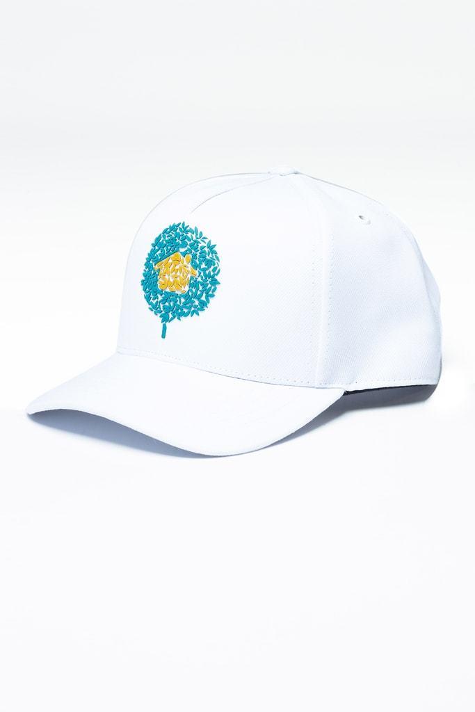 Boné Branco Snapback Logo KSA