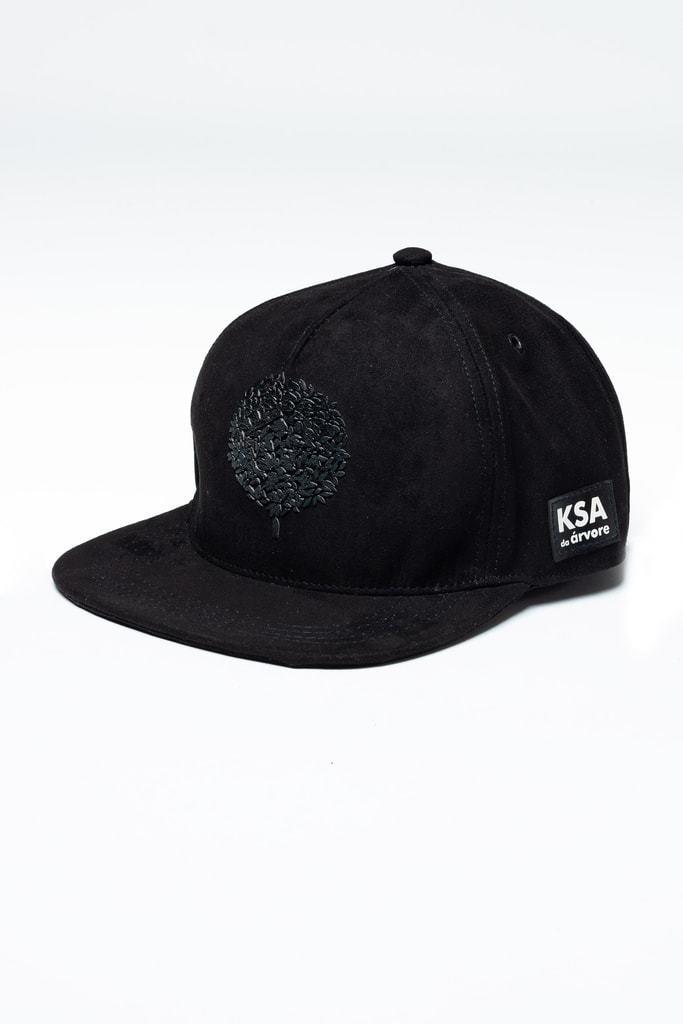 Boné Preto Black in Black KSA Aba Curva