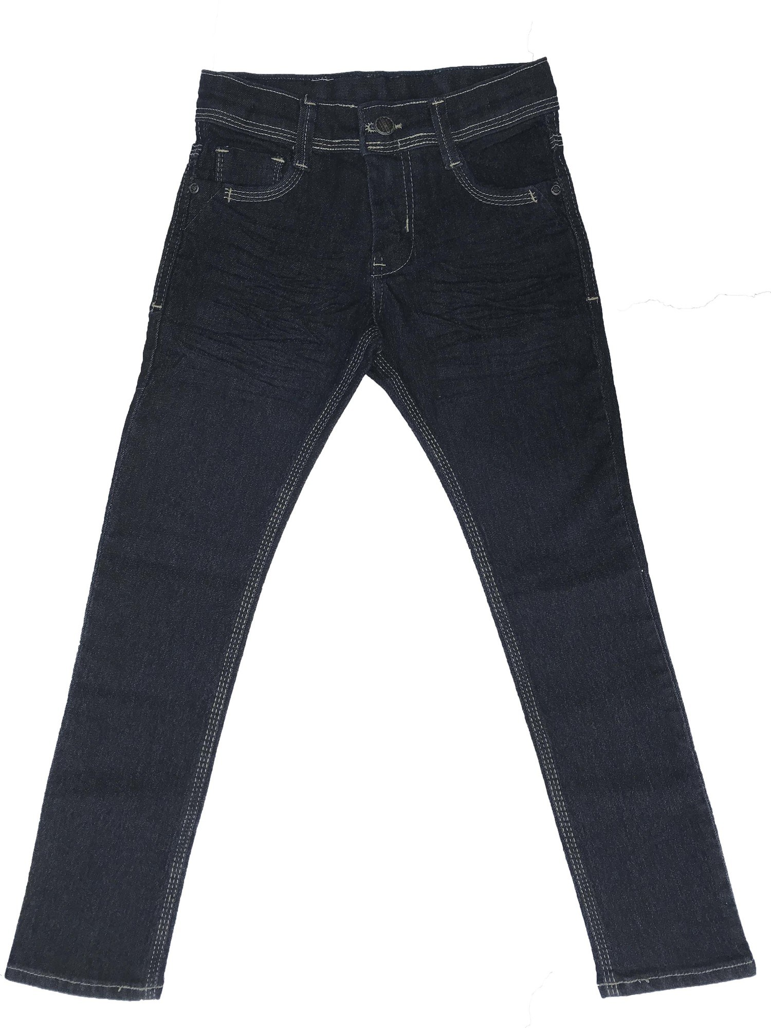 Calça Básica Azul Masculina Infantil [429]
