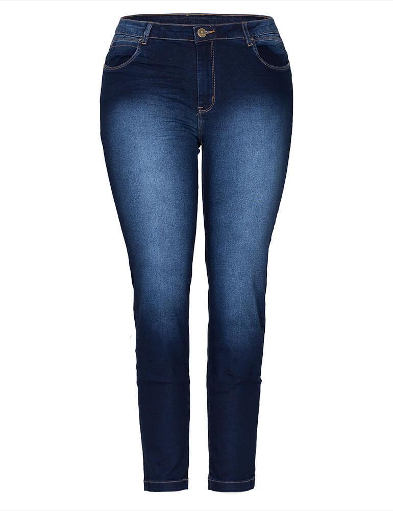 Calça Cigarrete Feminina Fact Jeans Plus Size ref. 03244