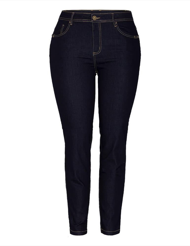 Calça Cigarrete Feminina Fact Jeans Plus Size [03369]