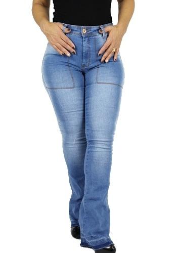 Calça Dinho's Jeans Flare Boot Cut Trancoso ref. 2486