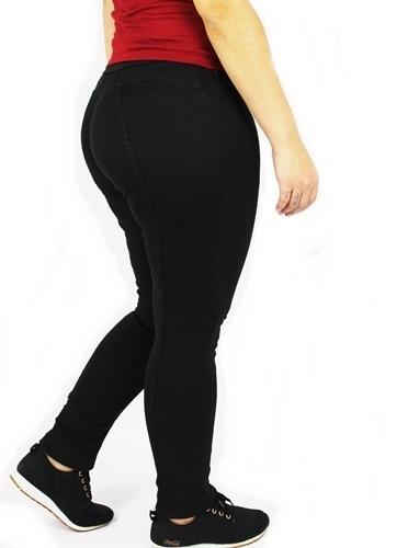 Calça Dinho´s jeans Legging Color  Gumy Preta (2340)
