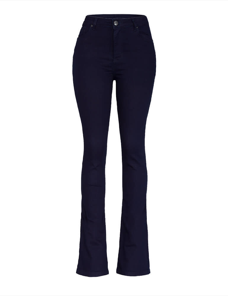 Calça Flare Feminina Fact Jeans [3605]