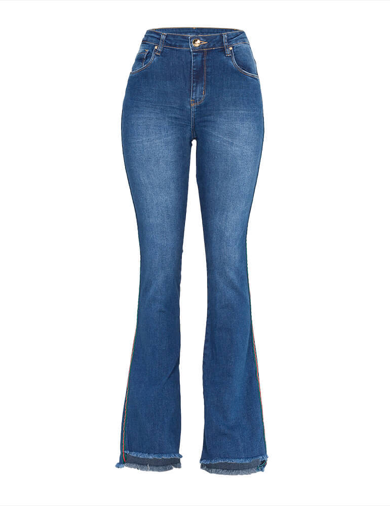 Calça Flare Feminina Fact Jeans [3775]