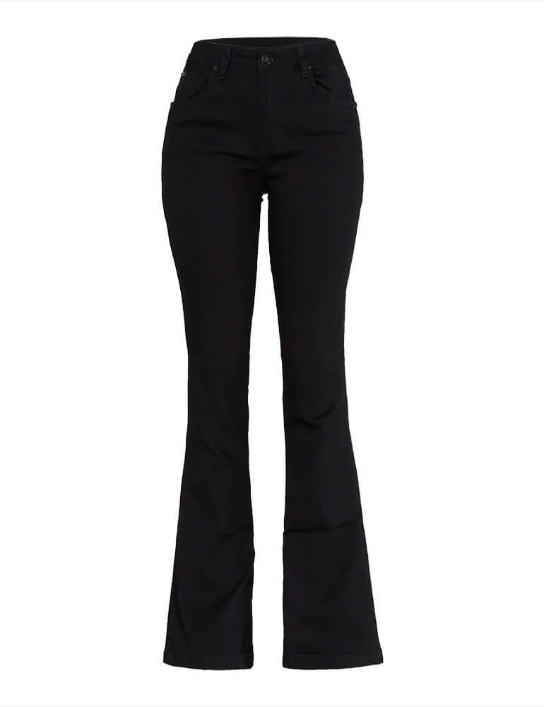 Calça Flare Feminina Fact Jeans [3806]