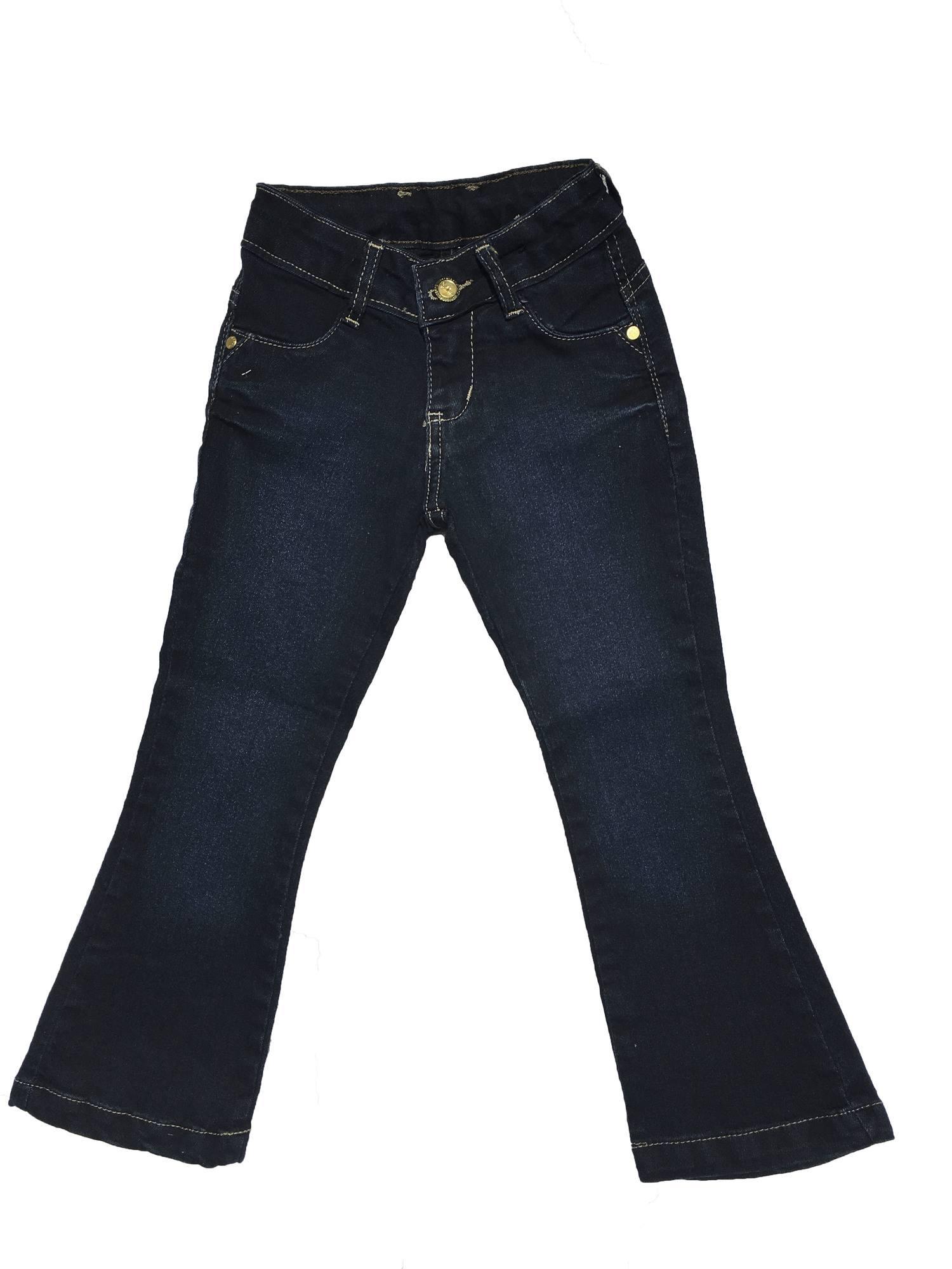 Calça Jeans Flare Feminina Infantil [427]