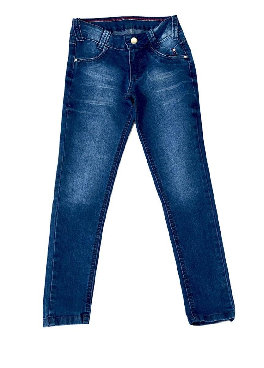 Calça Jeans Infantil Meninas Skinny e Stretch Tamanhos 04, 06 e 08 [Ref 1623]