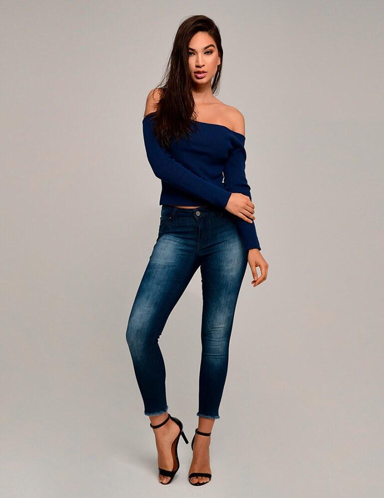 Calça Jeans Skinny Feminina Fact Jeans ref. 03254