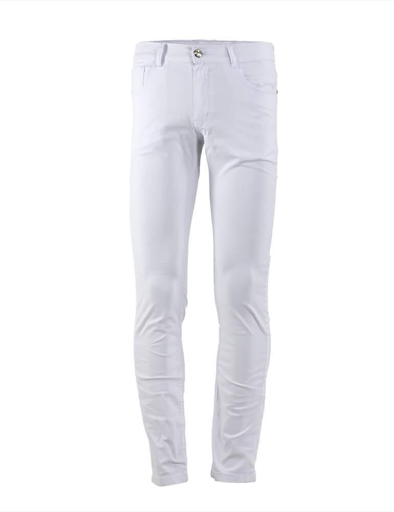 Calça Masculina Slim Fact Jeans - Branca [2380]