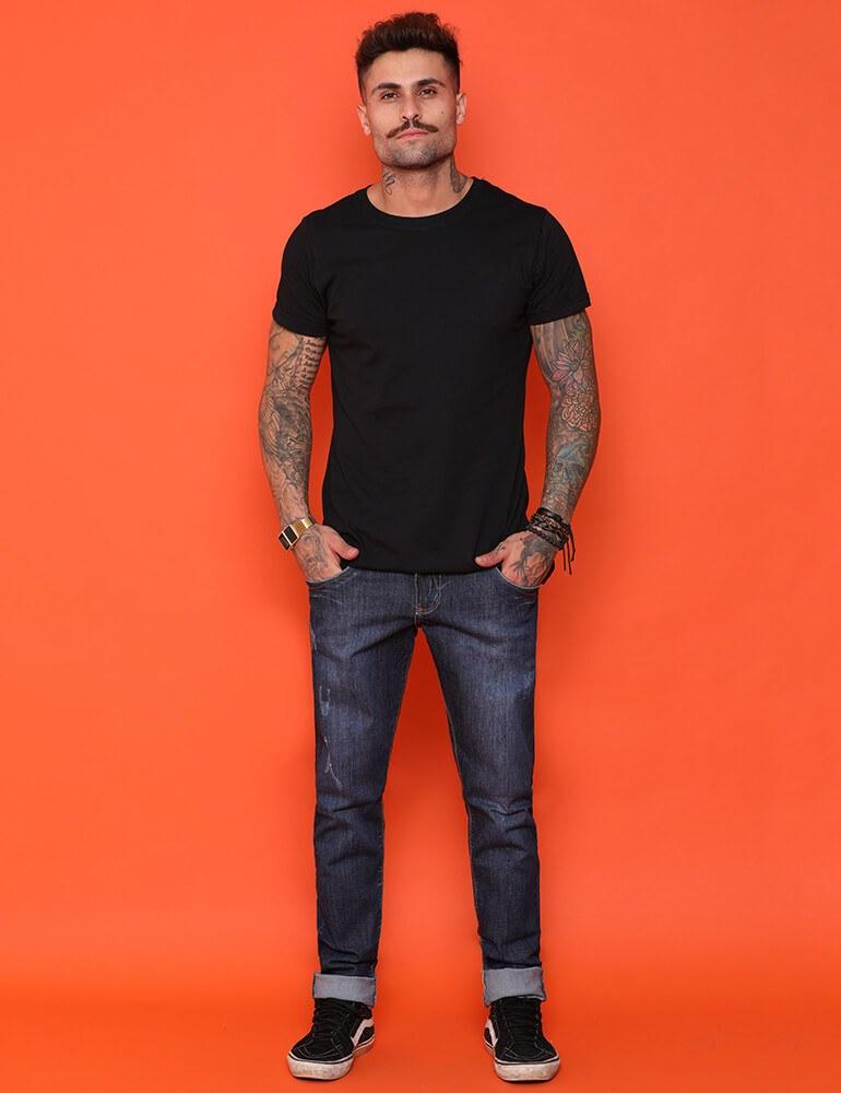 Calça Masculina Tradicional Fact Jeans [3361]