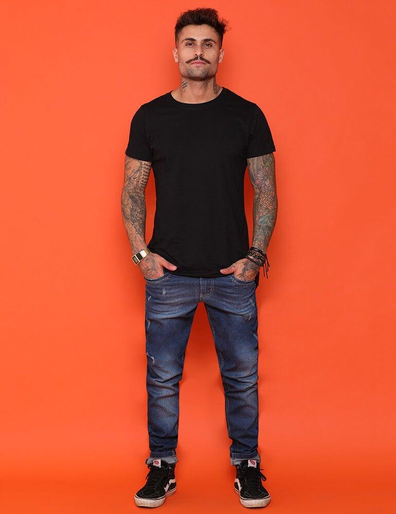 Calça Masculina Tradicional Fact Jeans [3374]