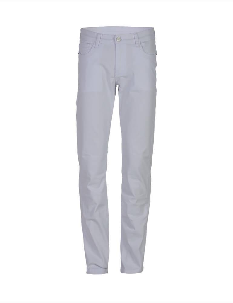 Calça Masculina Tradicional Fact Jeans - Branca [3034]