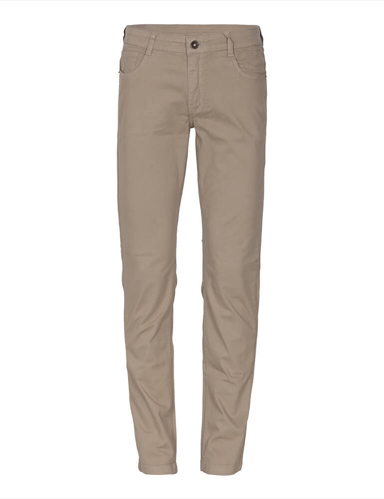 Calça Masculina Tradicional Fact Jeans - Caqui [3232]
