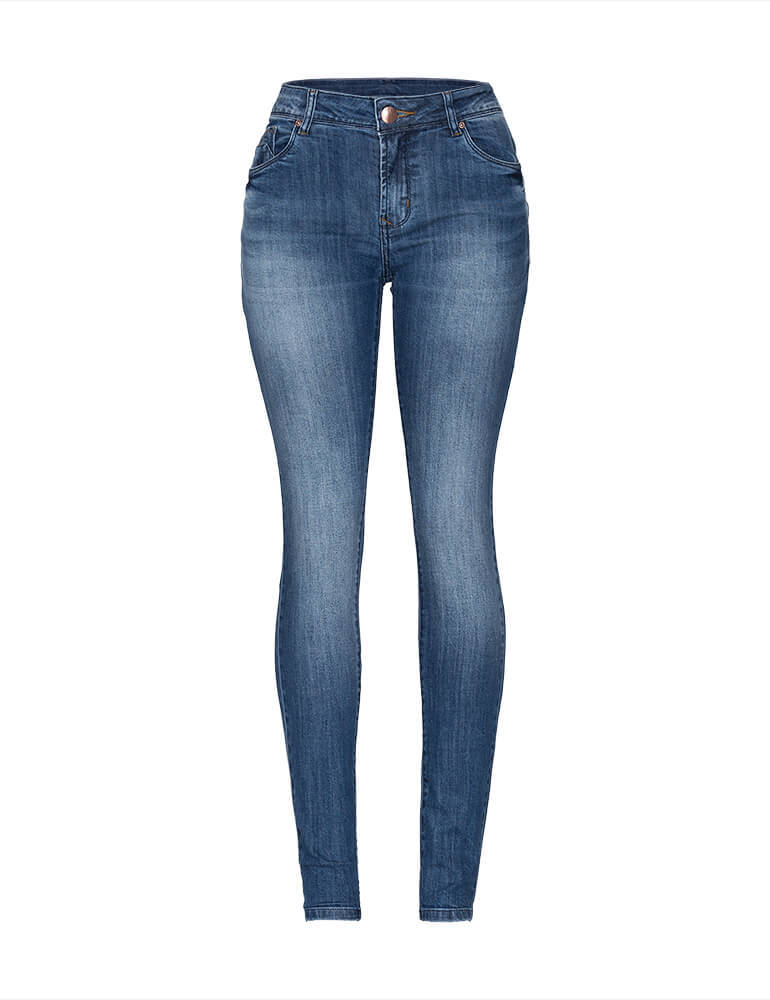 Calça Skinny Feminina Fact Jeans ref. 03282