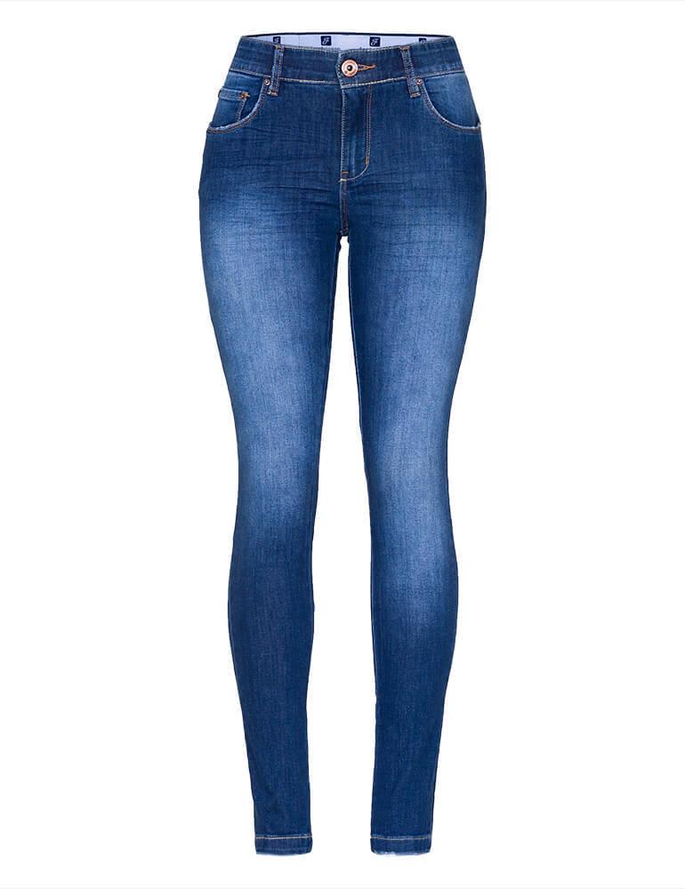 Calça Skinny Feminina Fact Jeans [3489]