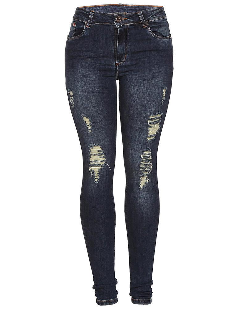 Calça Skinny Feminina Fact Jeans [3591]