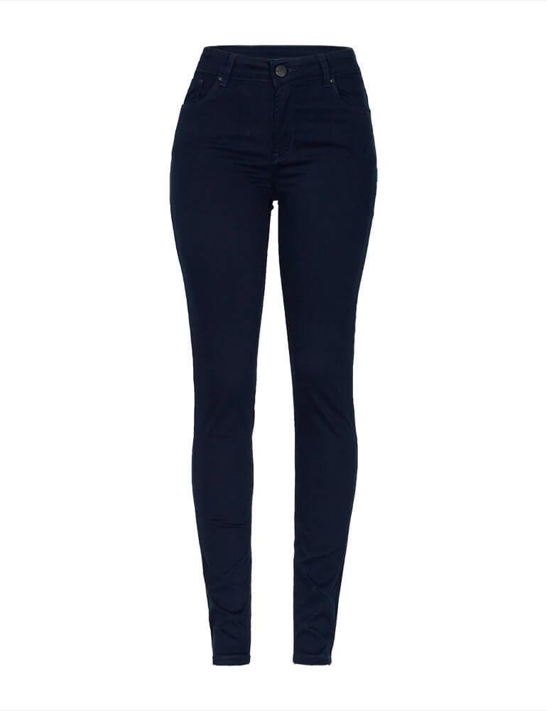 Calça Skinny Feminina Fact Jeans - Marinho [3671]
