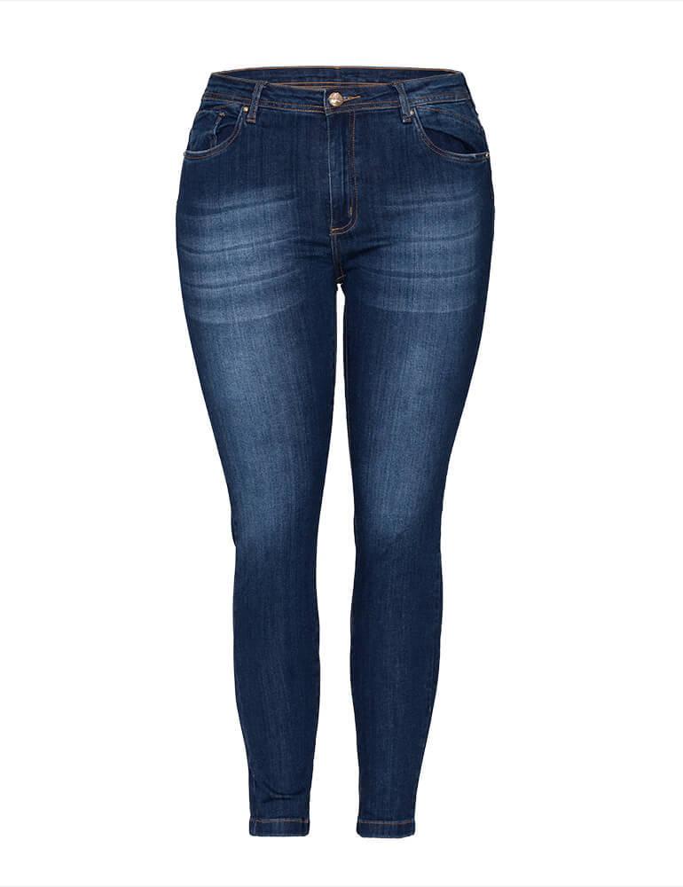 Calça Skinny Feminina Fact Jeans Plus Size ref. 03226
