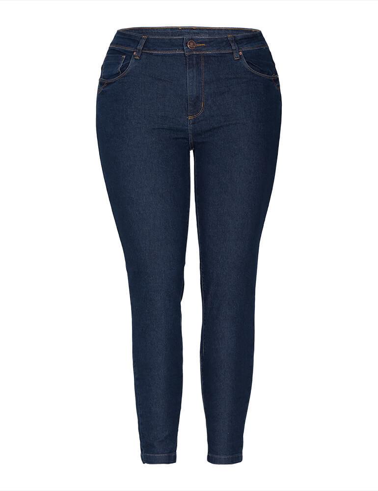 Calça Skinny Feminina Fact Jeans Plus Size [03248]