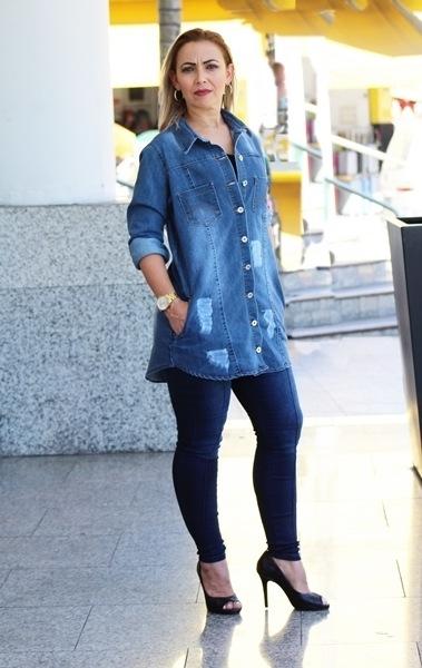 Camisa Maxi Dinho's Jeans Preston Clara (2513)
