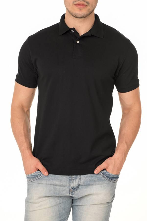 Camisa Polo P.A. Preta