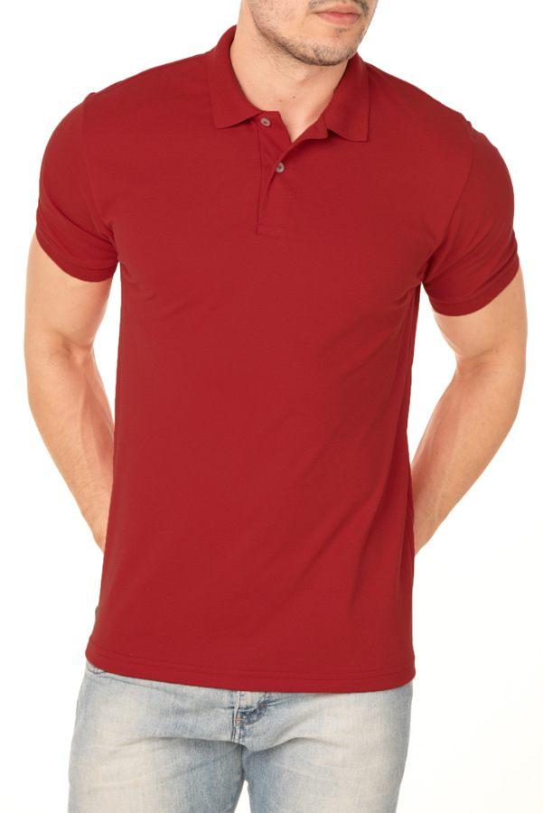 Camisa Polo P.A. Vermelha