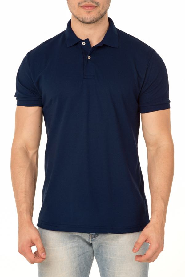 Camisa Polo P.A. Azul Marinho