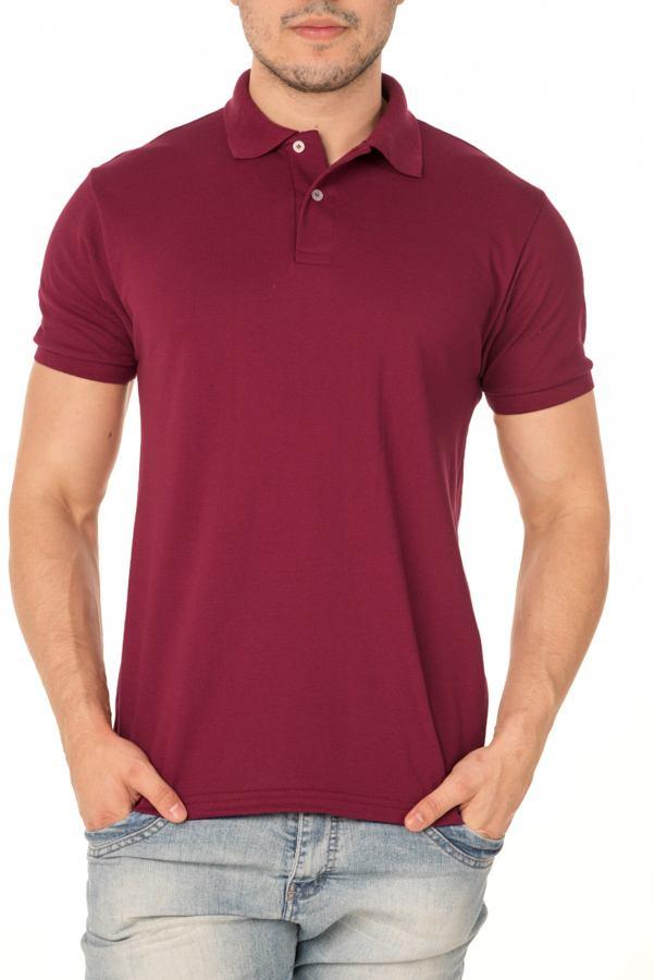Camisa Polo P.A. Bordo