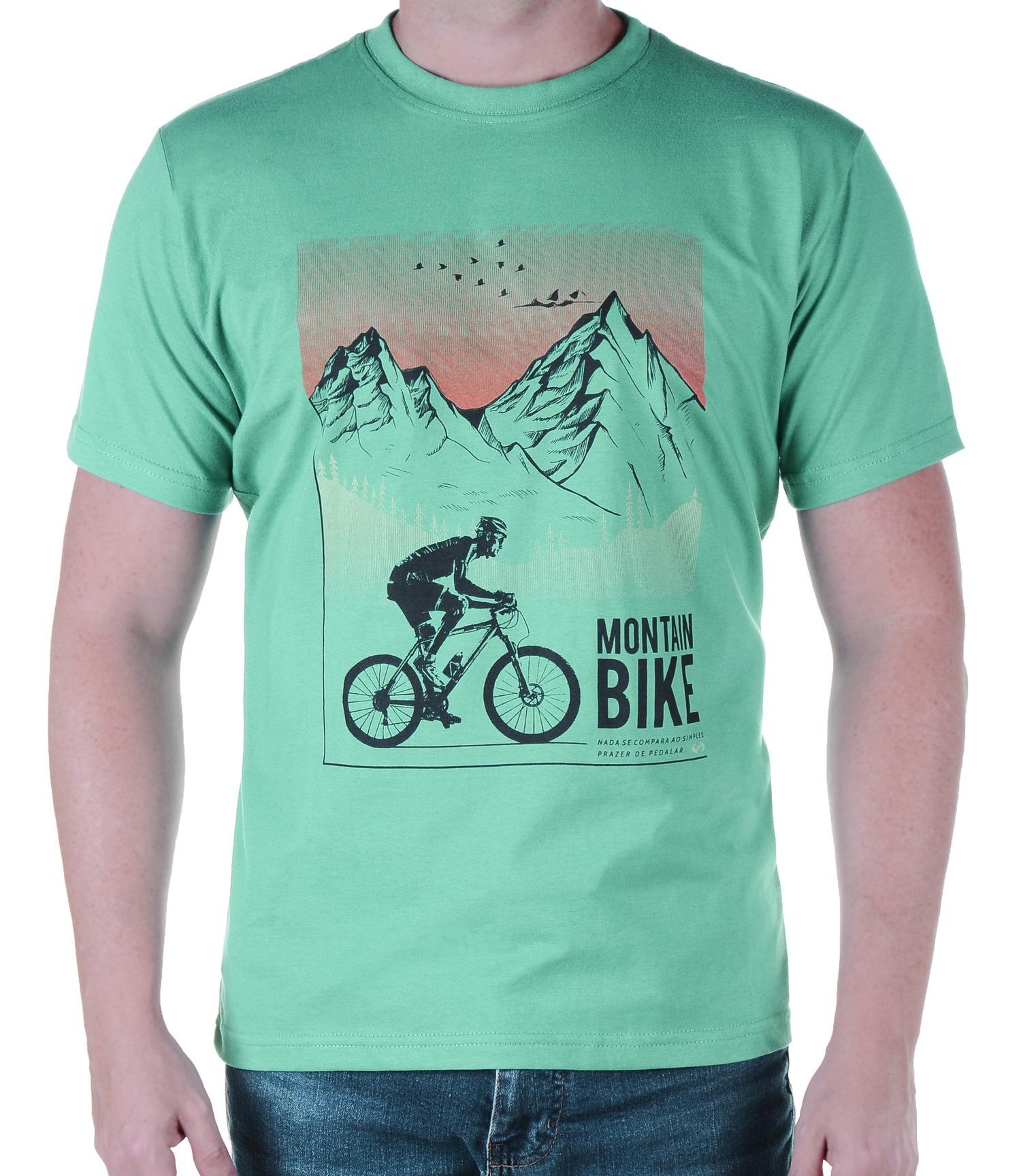 Camiseta Masculina Revost Bike - Verde