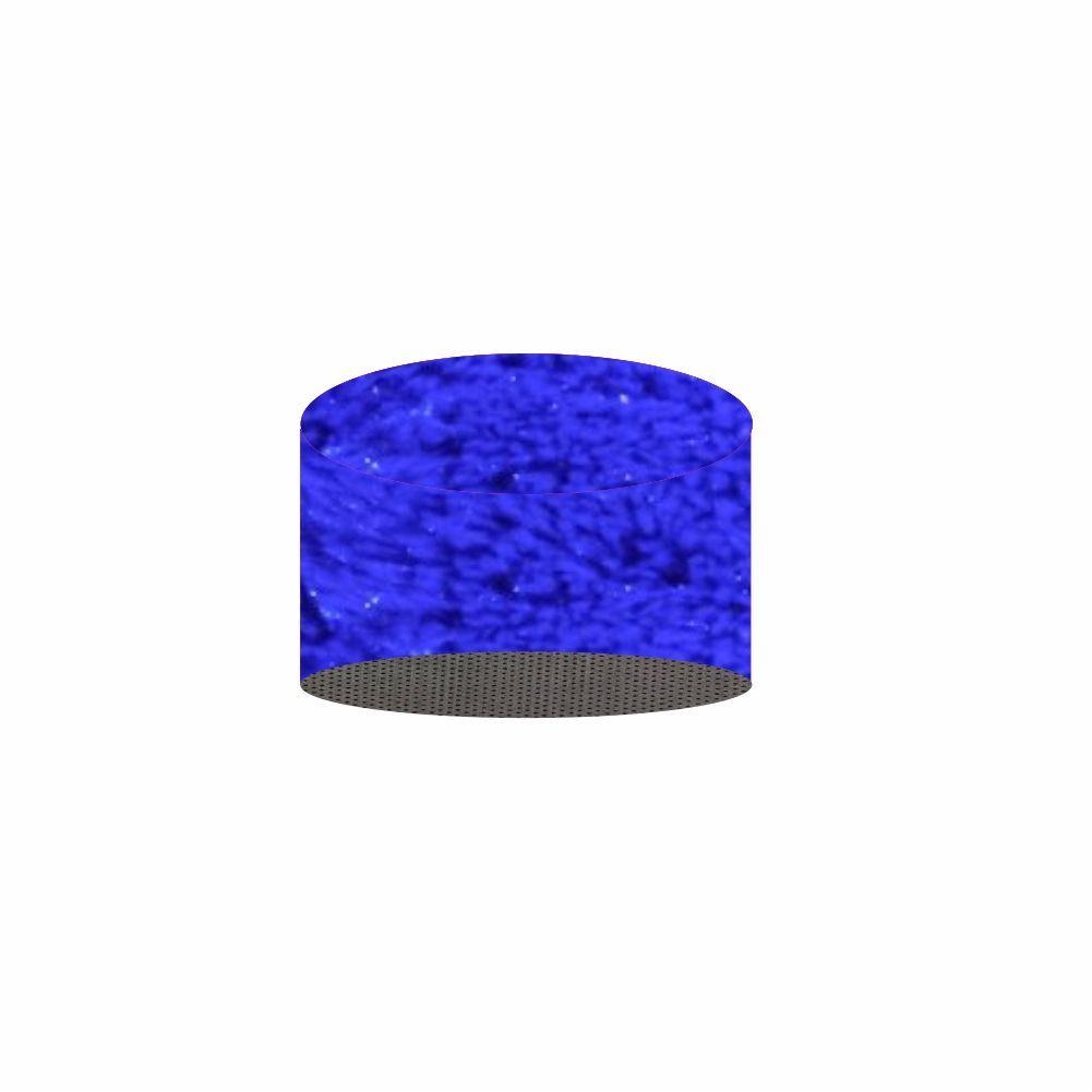 Puff Redondo Felpudo - Capa 1,00X0,50 Para (M) - 24 Opções Cores [1407]