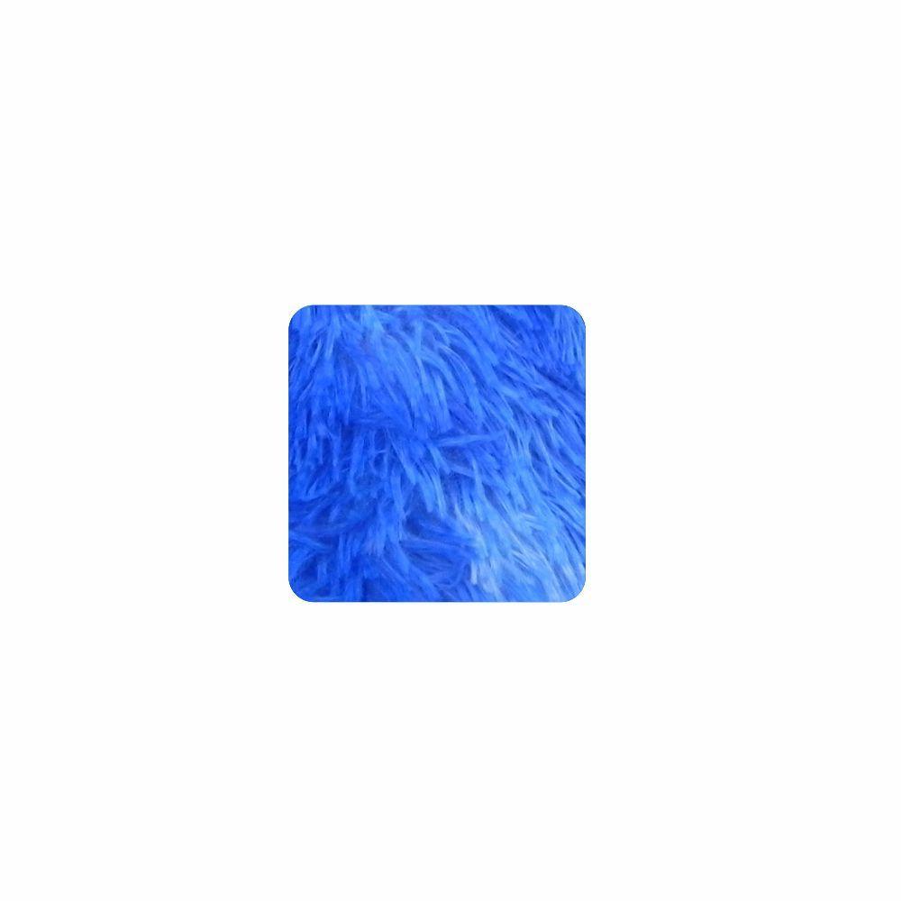 Almofada Felpuda Quadrada - Capa 0,40X0,40 - 24 Opções Cores [833]
