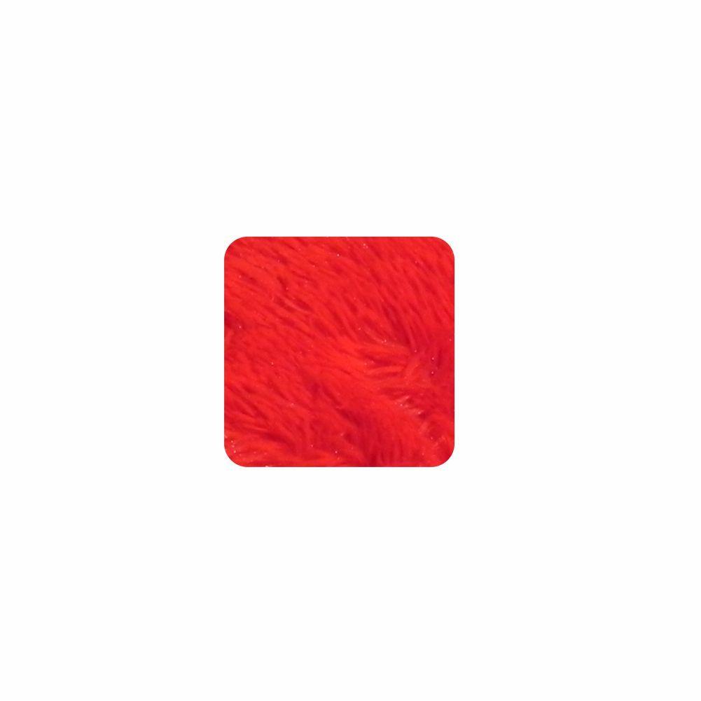 Almofada Felpuda Quadrada - Capa 0,50X0,50 - 24 Opções Cores [835]