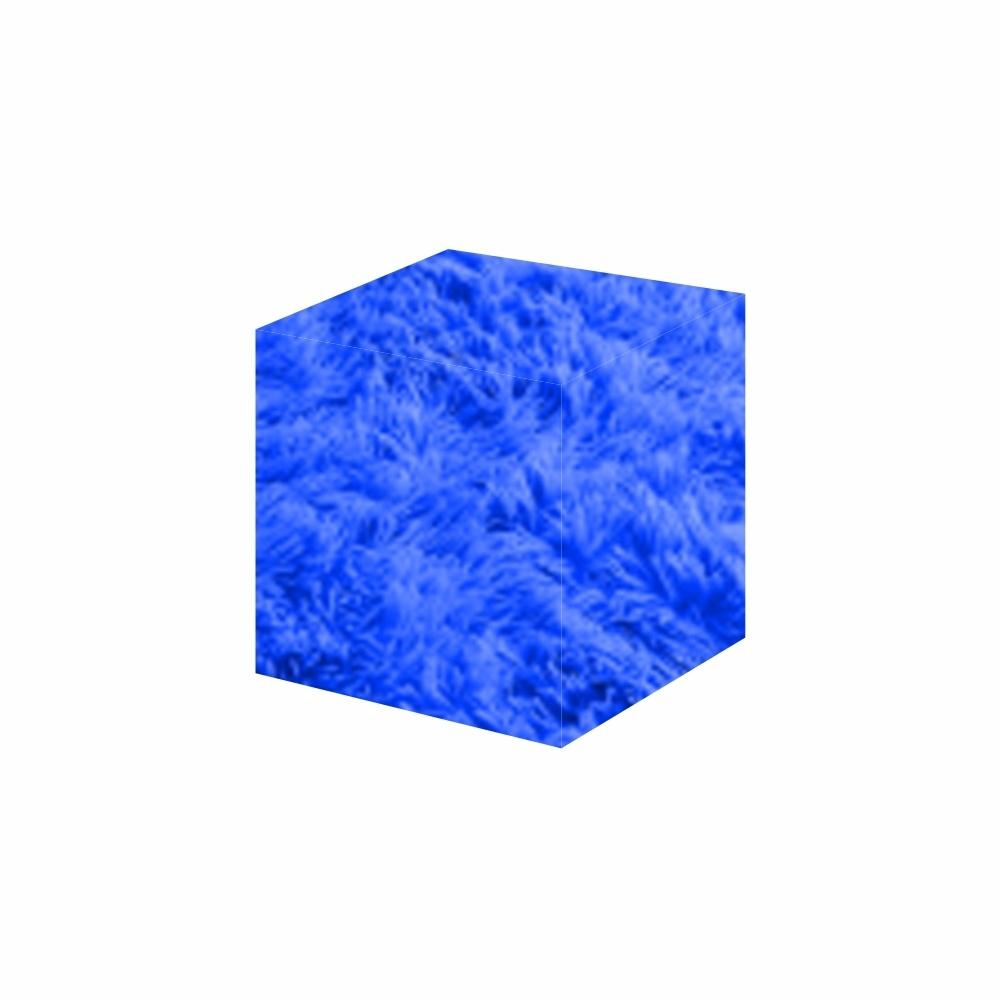Capa Para Puff Quadrado Felpudo 0,40X0,50 (P) Diversos [1217]