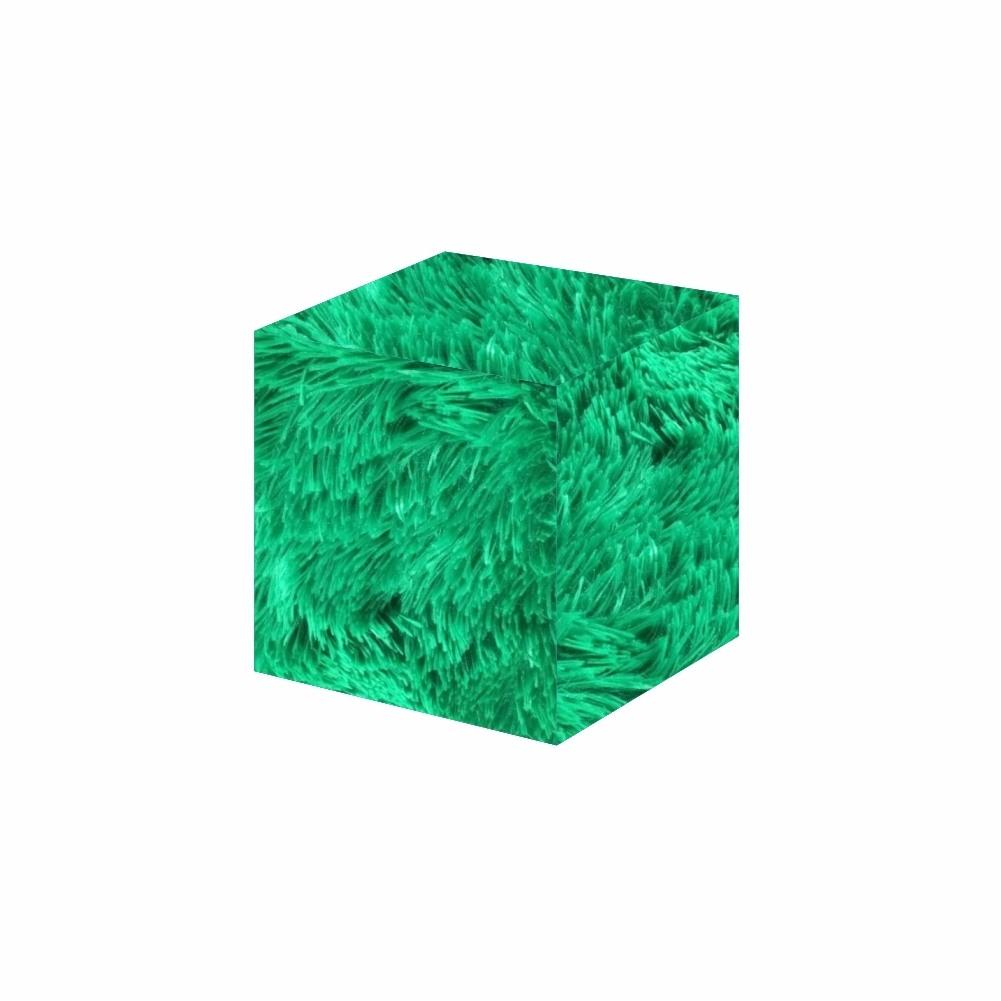 Capa Puff Quadrado Felpudo 1,00X0,50 (M) Diversos [853]