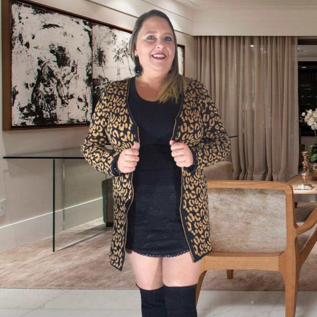 0e34d3639 casaco plus size moda feminina