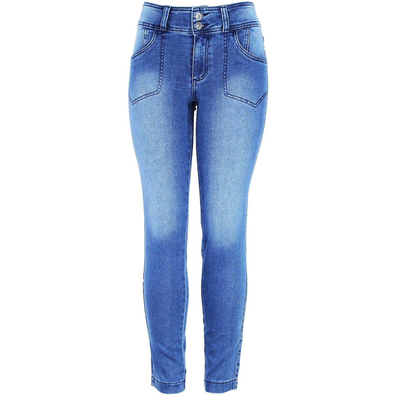 "Cigarrete Eruption Jeans ""moletinho"" Gentil [52224ST]"