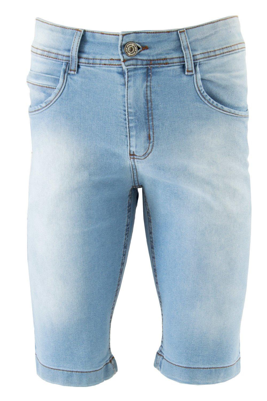 Bermuda Masculina Confort Black Jeans - R$69,99 - [BLACK207]